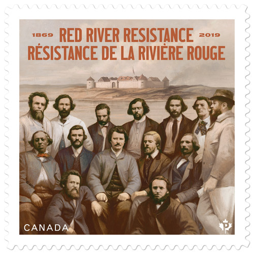 Red River Resistance Stamp (CNW Group/Canada Post)