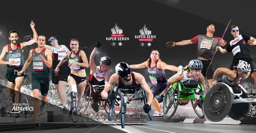 Les meilleurs athlètes canadiens en para-athlétisme tenteront de remporter des médailles à l'événement le plus important de leur saison. PHOTO : Comité paralympique canadien (Groupe CNW/Canadian Paralympic Committee (Sponsorships))