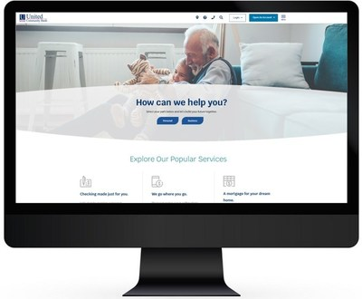 Homepage of ucbi.com