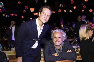 Artist Gabriel Orozco at Casa Dragones 10-year anniversary dinner