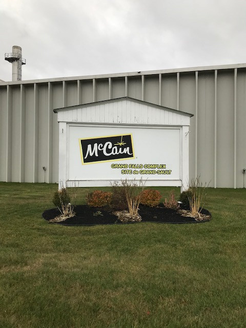 McCain Foods (Canada) to invest  $80 million in production expansion at Grand Falls, New Brunswick facility. (CNW Group/McCain Foods (Canada))