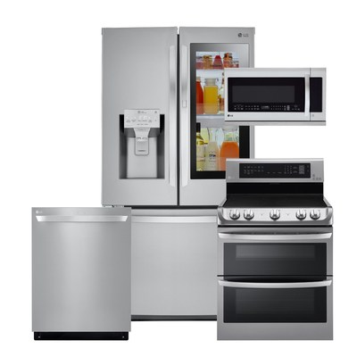 Consider upgrading your kitchen appliances before your family gets to town with innovative, smart solutions that take your home entertaining to the next level. Plus, shop with confidence knowing that LG has received more J.D. Power customer satisfaction awards for kitchen appliances than any other manufacturer three years in a row.
