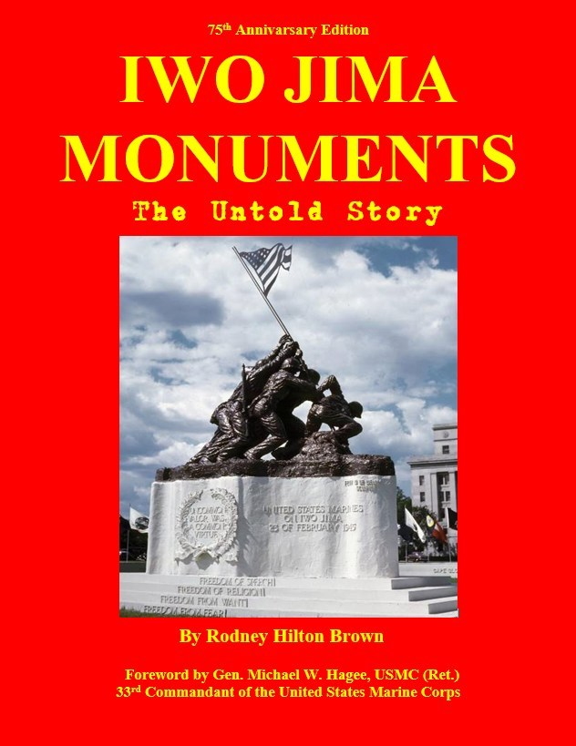 IWO JIMA MONUMENTS - Front Cover