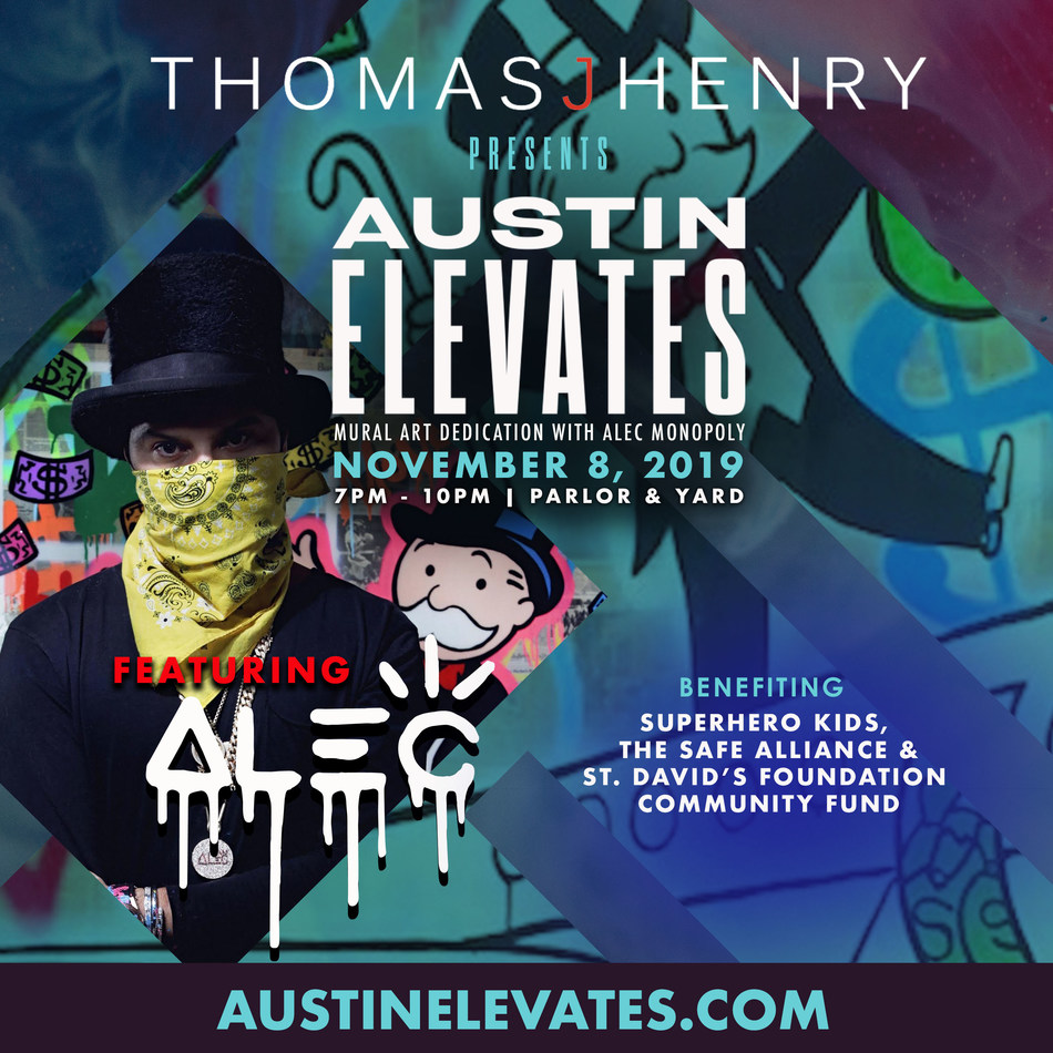 "Attorney Thomas J. Henry Presents ""Austin Elevates"" a New Art and Music Experience in Austin, Texas"