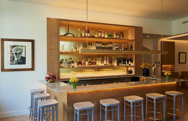 Michelin rated restaurant Wallsé Restaurant, New York City. Photographer: John Saponara