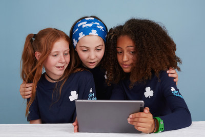 Girl Guides of Canada-Guides du Canada (GGC) and BlackBerry Limited announced the launch of cybersecurity skills-based programming, Digital Defenders, for GGC's 70,000 members (CNW Group/Girl Guides of Canada)