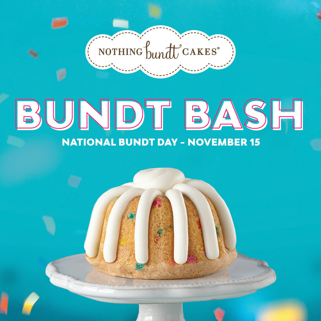 Nothing Bundt Cakes celebrates National Bundt Day with first nationwide 'Bundt Bash'