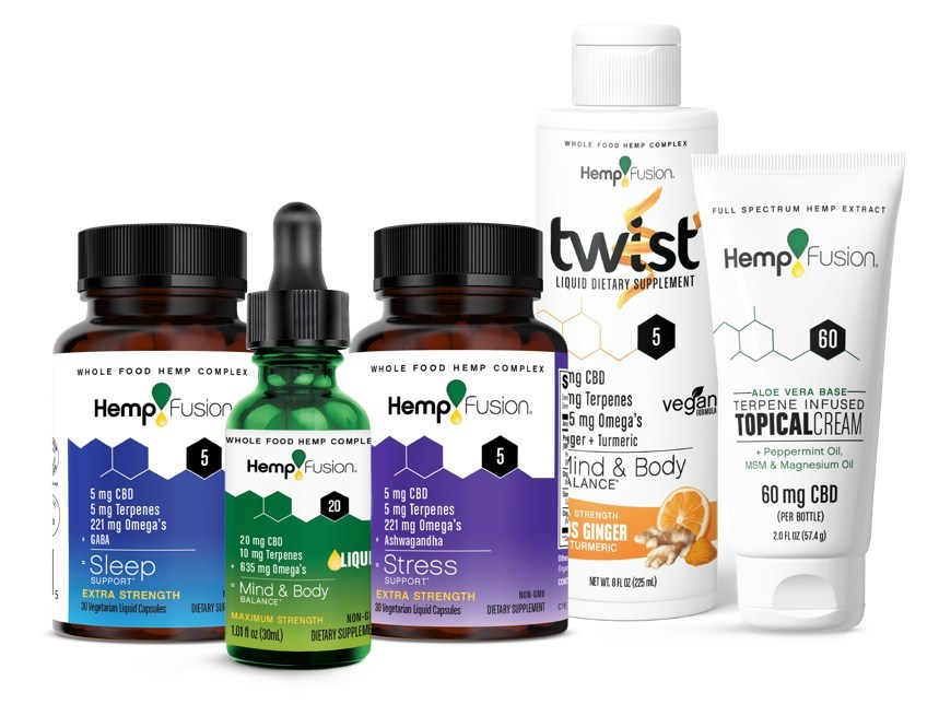 HempFusion Products (CNW Group/Hemp Fusion)