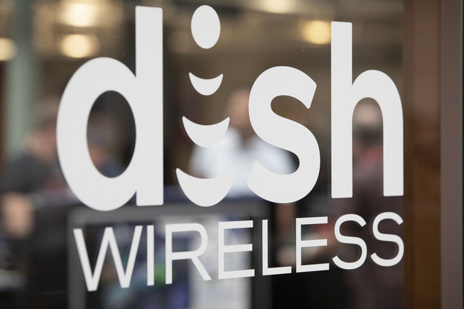 DISH Wireless glass (PRNewsfoto/DISH Network Corporation)