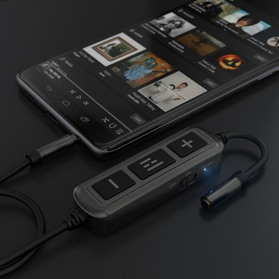 The HELM DB12 AAAMP Mobile Headphone Amplifier with THX AAA Technology