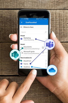 OnePlaceMail app (PRNewsfoto/OnePlace Solutions)