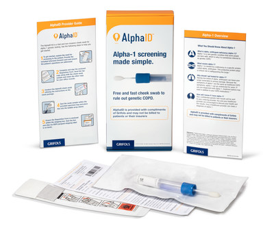 AlphaID™, a free cheek swab to screen for Alpha-1