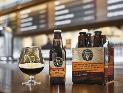 The new beer is the endgame of a Guinness Barleywine and a Guinness Imperial Stout – both brewed in Baltimore and aged in Bulleit Bourbon barrels before being blended together.