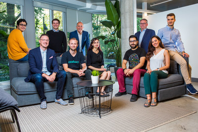 Some members of the Concordia University and Catallaxy team, including Jeremy Clark, Emilio B. Imbriglio and Louis Roy (CNW Group/Raymond Chabot Grant Thornton)