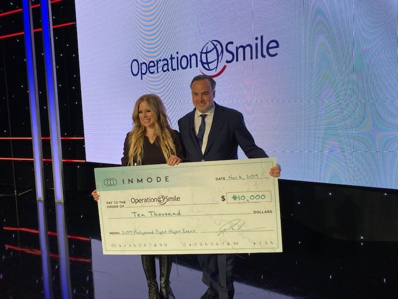 InMode Supporting Operation Smile with Charitable Donation