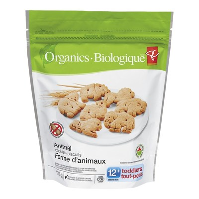 PC Organics Animal Cookies (CNW Group/President's Choice)