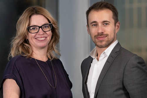 From left: Lorèn Lailey-Irvine, Calgary Managing Partner, NATIONAL Public Relations and Martin Daraiche, President, NATIONAL Public Relations (CNW Group/NATIONAL Public Relations)