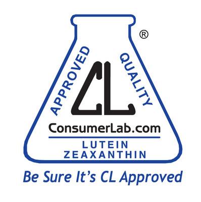 ConsumerLab.com Seal for USANA's Visionex Supplement