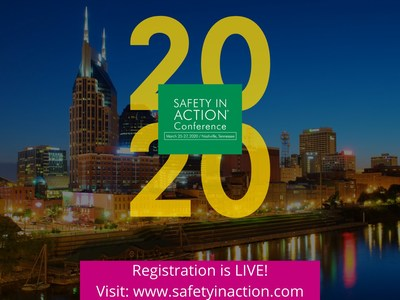 Registration for the 2020 Safety in Action Conference is now Live!