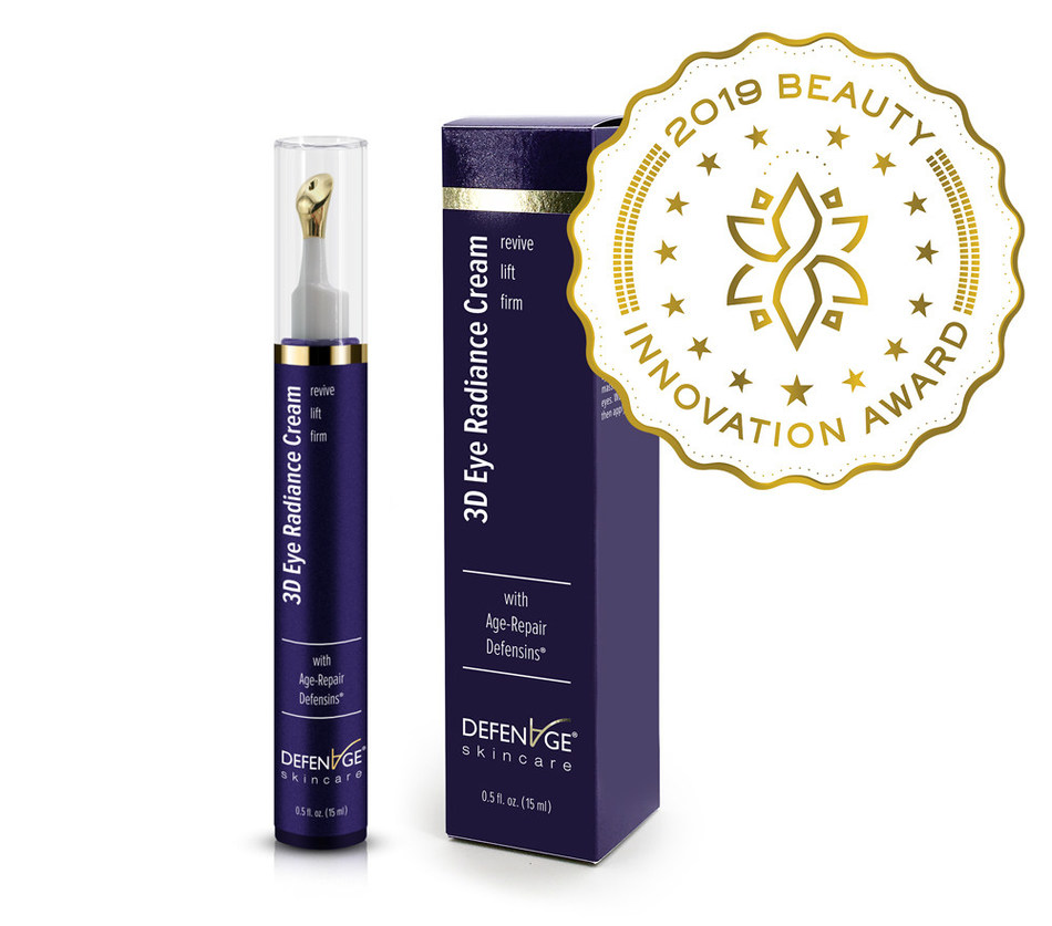 """DefenAge 3D Radiance Eye Cream Wins Independent Innovation Award for """"Eye Product of the Year"""""""