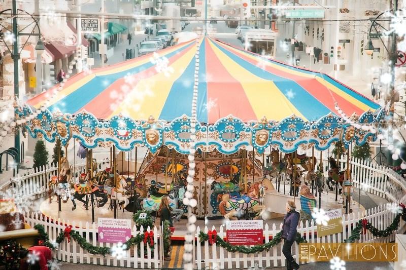 Denver Pavilions' Holiday Carousel return Dec. 21, 2019-Jan. 2, 2020.
