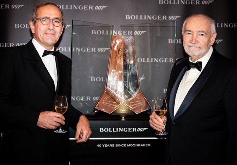 Champagne Bollinger Celebrates 40th Anniversary of James Bond Partnership - Milestone Marked in Paris with VIP Party