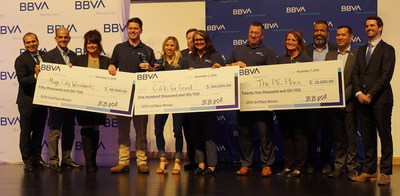 Gifts for Good takes home the first place $100,000 prize for their work in corporate gifting with a social impact in the third edition of BBVA Momentum.
