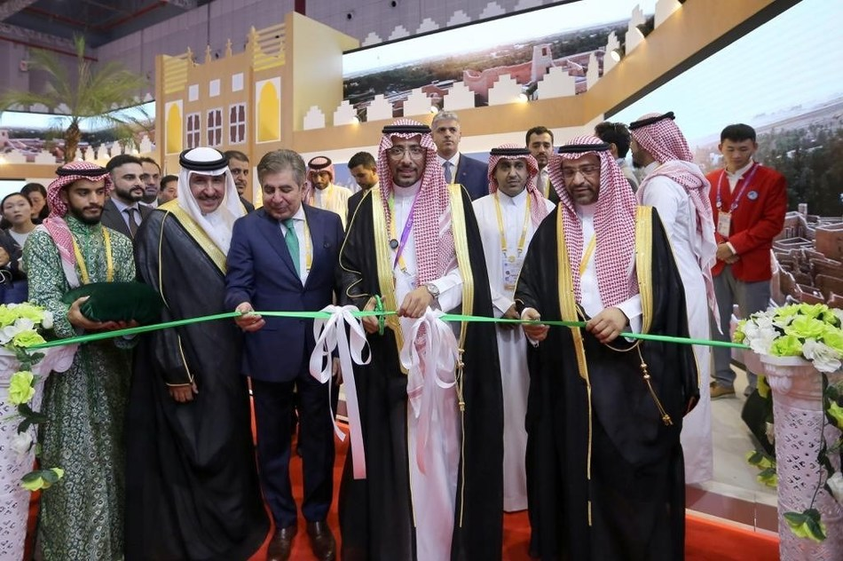 Saudi Minister of Industry and Mineral Resources Opens Saudi Pavilion at China International Import Expo