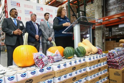 Ocean Spray partners with The Greater Boston Food Bank to feed more than 14 million meals to people in need.