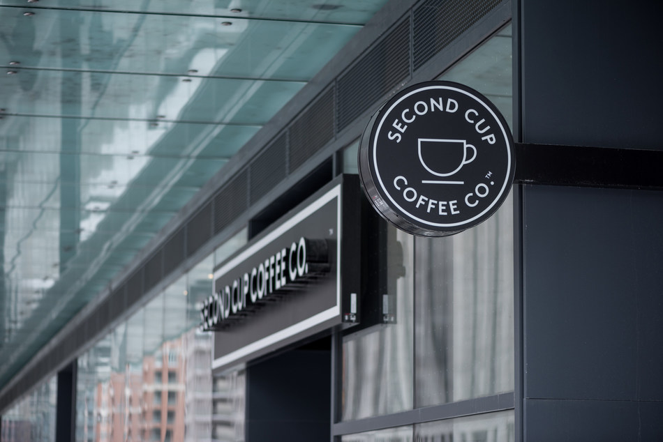 Un café Second Cup à Toronto (Groupe CNW/The Second Cup Ltd.)