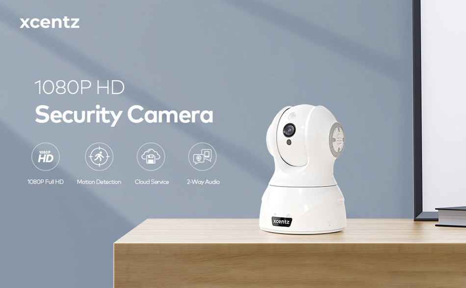 Xcentz 1080P HD Security Camera