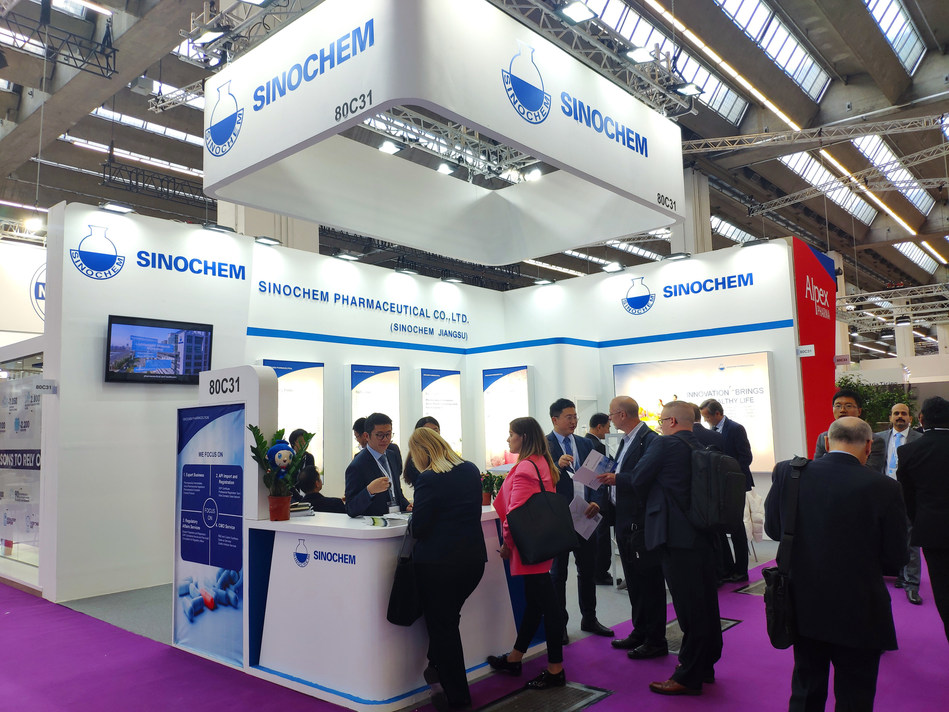 SINOCHEM PHARMACEUTICAL at CPhI Worldwide Europe