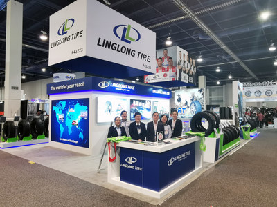 Chinese Tire Manufacturer Linglong Tire Debuts at SEMA Show 2019