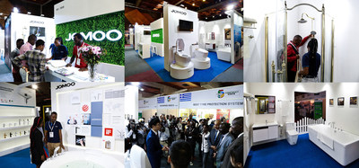 JOMOO's booth at the Big 5 Construct Kenya
