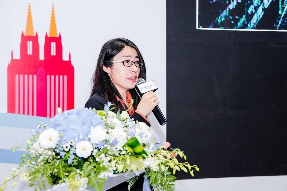 MENG Ying, introducing Hesai's laser safety work