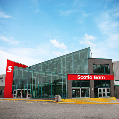 This image depicts what Scotia Barn is expected to look like once the signage is fully installed in 2020. (CNW Group/Scotiabank)
