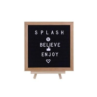 Splash Wood/Fabric Letter Board, $19.98 (CNW Group/Staples Canada ULC)