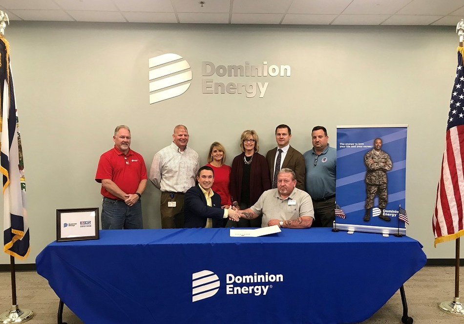 Employees in Bridgeport, W.Va., recently signed a statement of support for the ESGR, demonstrating a continued commitment to military veterans.