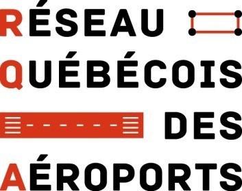 Logo : Réseau québécois des aéroports (Groupe CNW/Réseau québécois des aéroports (RQA))