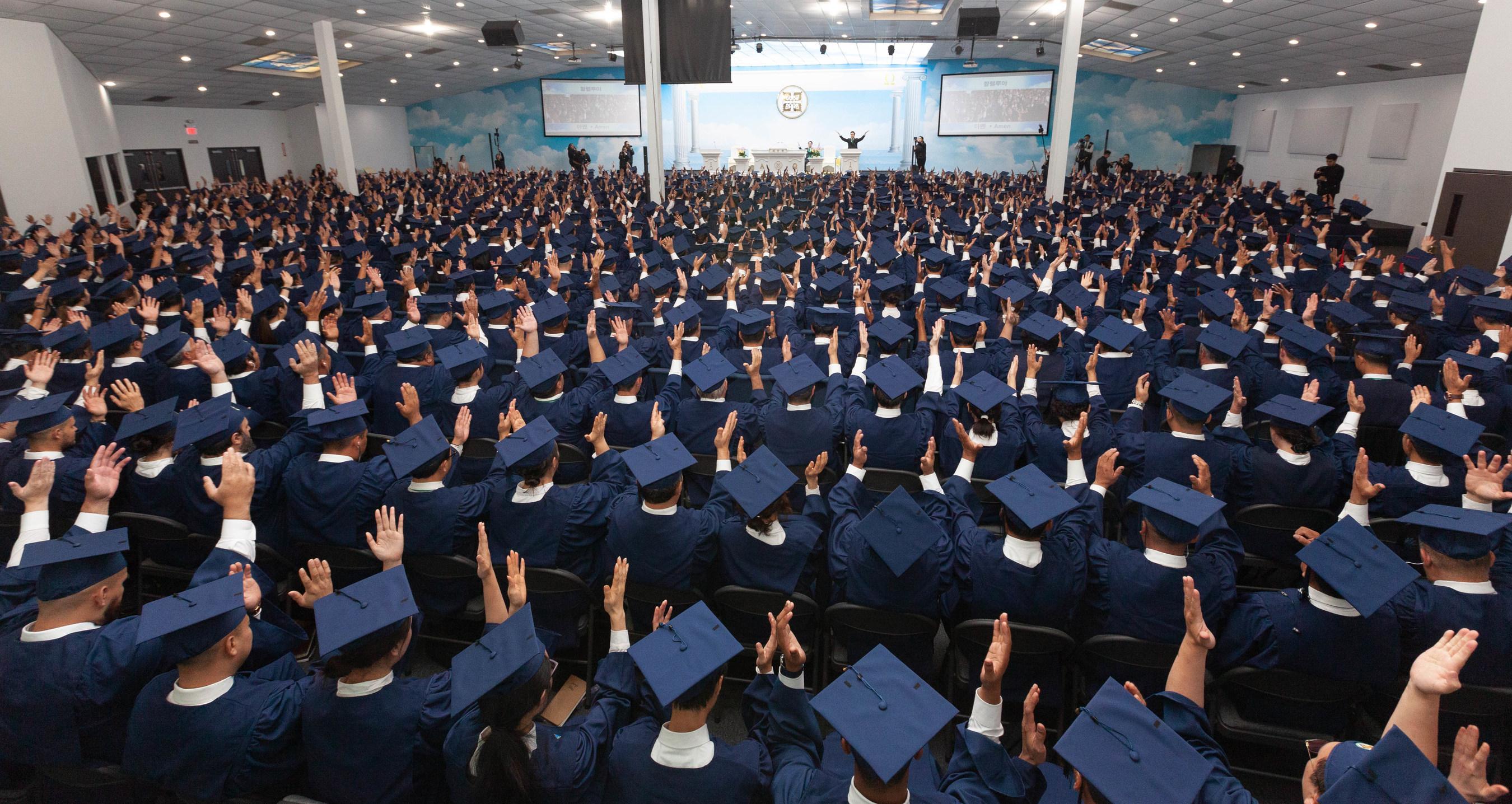Shincheonji Church of Jesus Graduates 100,000 Students Worldwide