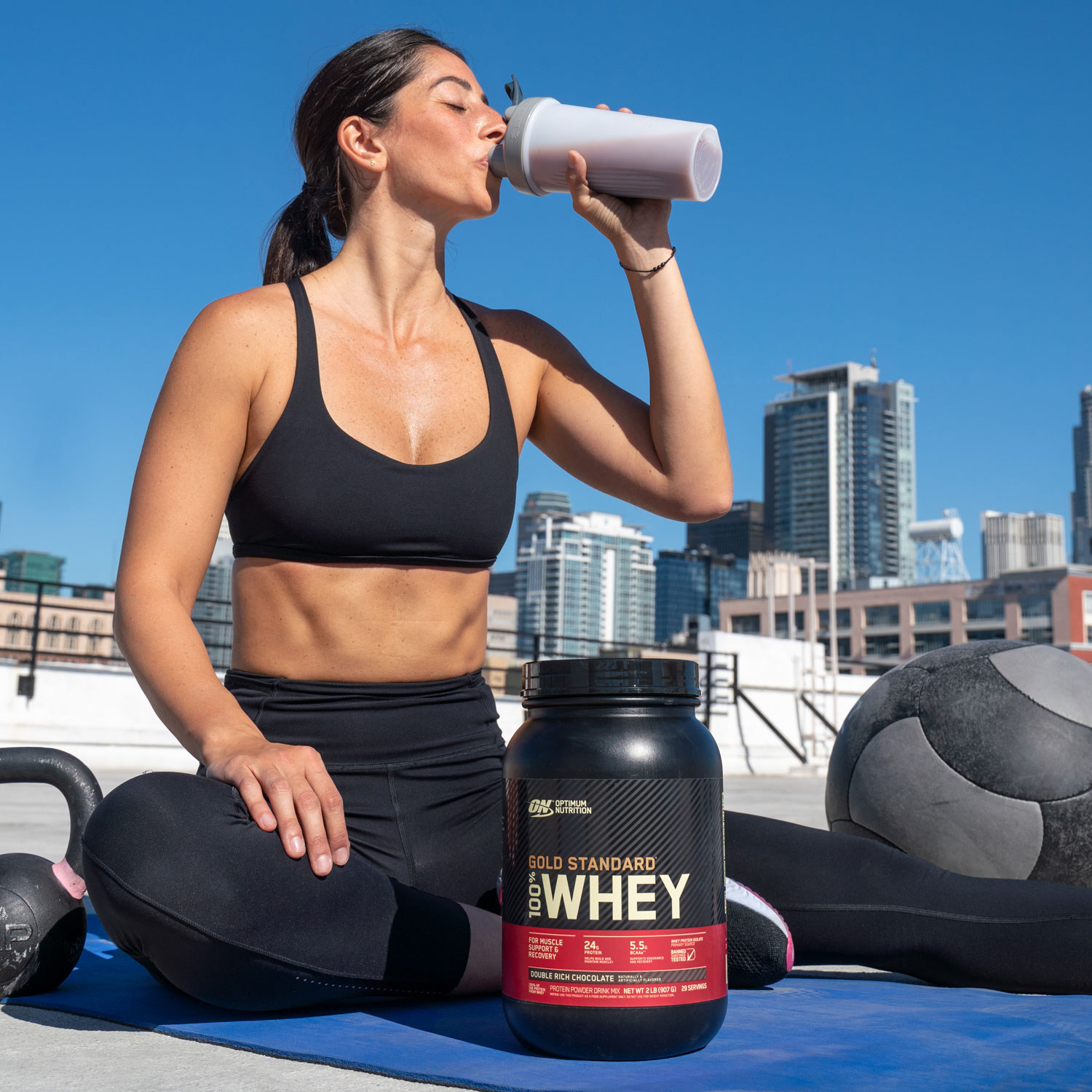GOLD STANDARD 100% WHEY™ By OPTIMUM NUTRITION™ Has A New Look, Same Formula
