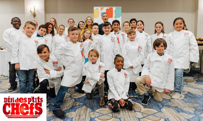 Les gagnants du Défi des p'tits chefs de l'an dernier à Ottawa (Ben Welland/byfield-pitman photography) (Groupe CNW/Boys and Girls Clubs of Canada)