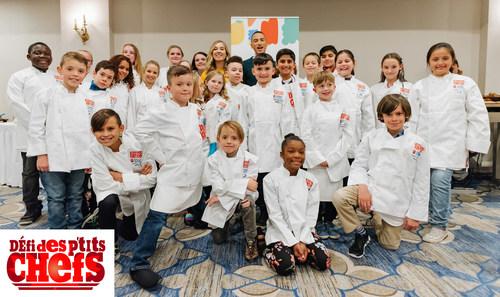 Les gagnants du Défi des p'tits chefs de l'an dernier à Ottawa (Ben Welland/byfield-pitman photography) (Groupe CNW/Boys and Girls Clubs of Canada)