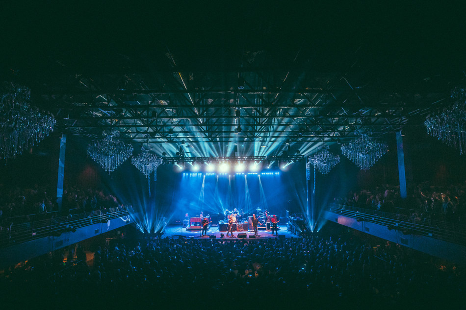 Zac Brown Band opens Night of Candles at The Coca-Cola Roxy in Atlanta. Photo Credit: Andy Sapp