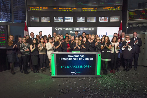 Governance Professionals of Canada Opens the Market (CNW Group/TMX Group Limited)