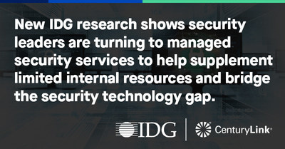 """New IDG research shows security leaders are turning to managed security services to help supplement limited internal resources and bridge the security technology gap."""