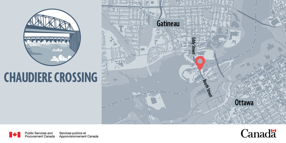 Chaudiere Crossing (CNW Group/Public Services and Procurement Canada)