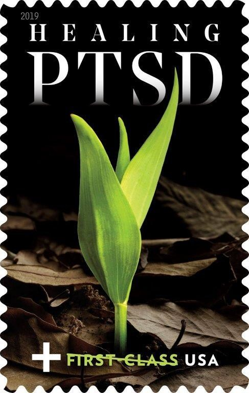 The U.S. Postal Service will release the Healing PTSD semipostal stamp to help raise funds for those diagnosed with post-traumatic stress disorder (PTSD).