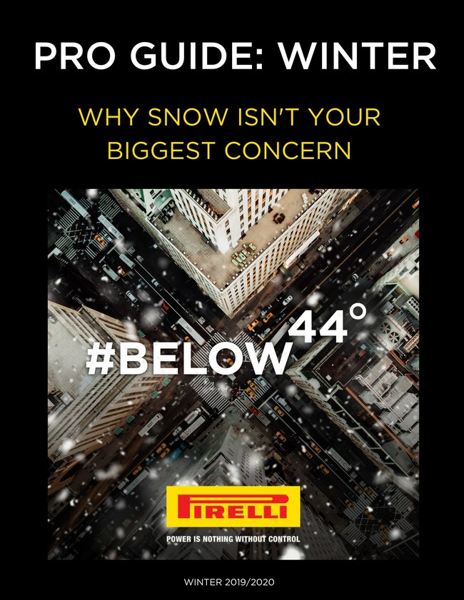 The Pirelli Pro Guide: Winter launches today and offers resources for consumers looking to learn more about winter tires: How do I know if I need them? Are they safer? What should I look for in a winter tire? The guide will also address common misperceptions such as the fact that driving an all-wheel and four-wheel drive vehicle has nothing to do with the grip your tires have on the road.