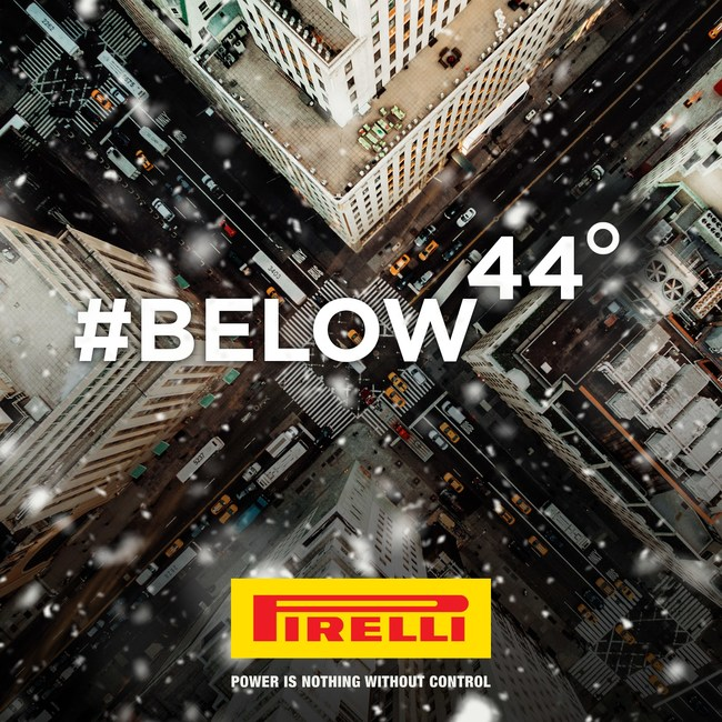 There are only 44 days until the first day of winter. Did you know that at 44o  F and below, the rubber in your tire  hardens, impacting your traction on the road? That's where winter tires jump in, formulated to stay softer in colder conditions and improve your performance and control.   Prepare your car for the winter and go #Below44 with Pirelli. #PirelliWinterTires #Wintertires #Pirelli (link)